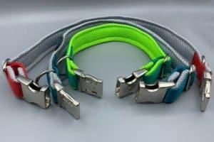 Halsband mit Metallschnalle