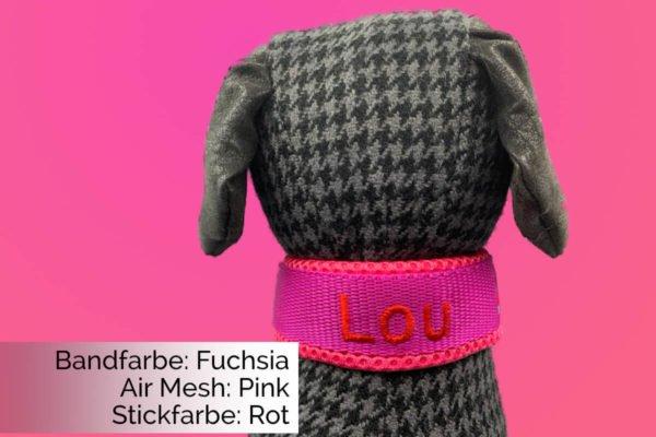Halsband Fuchsia-Pink