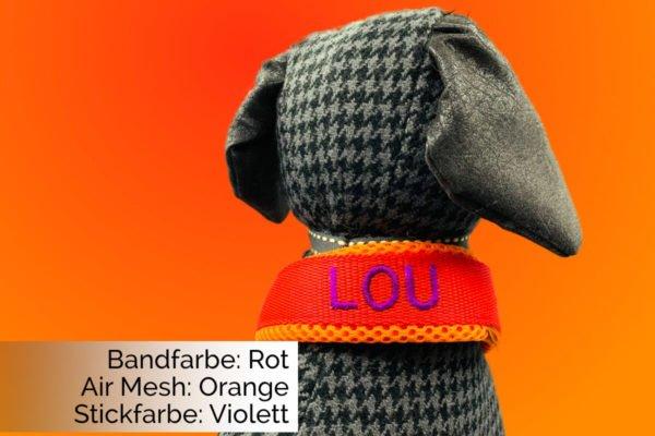 Halsband Rot-Orange