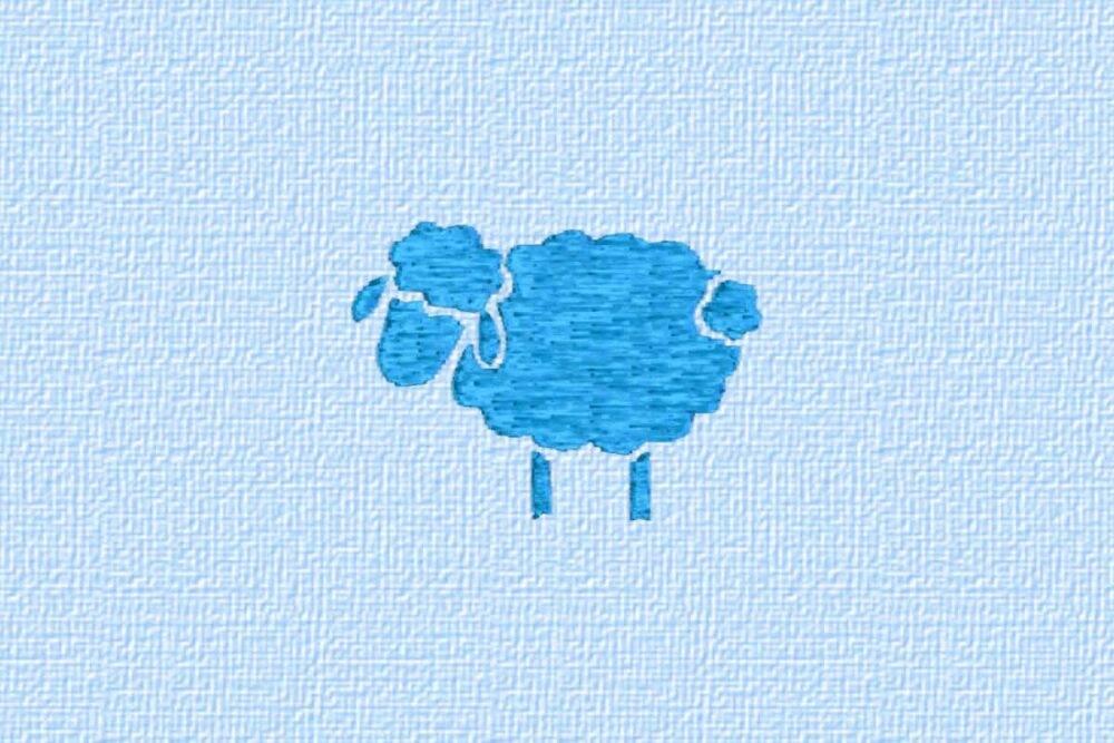 Schaf und Stern