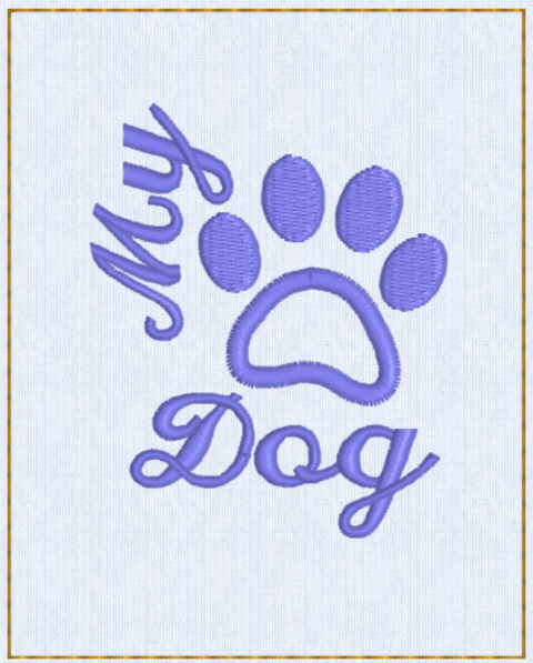 My Dog Pfote